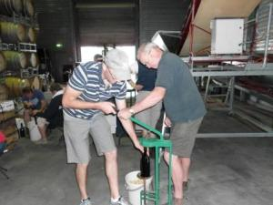 Bottling at the beginners course 2013